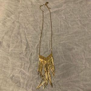 Charming Charlie's Fringe Necklace